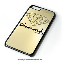 Gold Diamond Supply Co Design for iPhone and iPod Touch Case