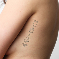Field Guide - Temporary Tattoo (Set of 2)