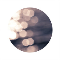 Abstract Photography, Abstract Water, Ocean Photography, Bokeh, Silver, Blue, LIMITED EDITION Circle Photo, Open Edition 8 x 8 Square Photo