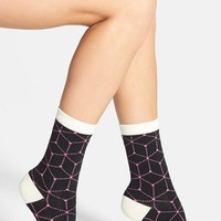 Women's Arthur George by R. Kardashian 'Connect the Dots' Crew Socks