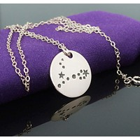 Sterling Silver Pisces Necklace