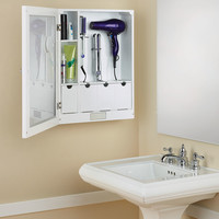 The Mirrored Home Hair Care Station