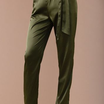 Finer Things Pant - Olive