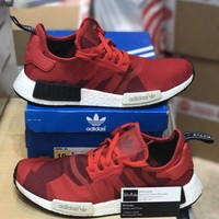 Adidas NMD R1 S79164 Red Camo size 10
