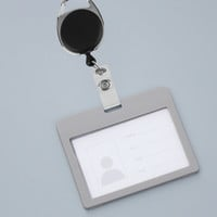 1pc New fashion Retractable Pull Key Ring Chain Reel ID Lanyard Name Tag Card Badge Holder Reel Recoil Belt Key Ring Clip