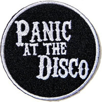 Panic At The Disco Embroidered Sew Iron On Applique Badge Patch