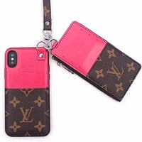 Louis Vuitton Fashion  Phone Cover Case For  iphone 6 6s 6plus 6s-plus 7 7plus 8 8plus X