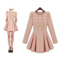 Women's Bodycon Elegant Spring Autumn Coat Jacket