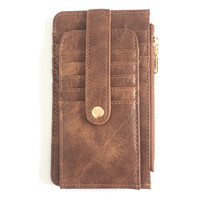Go Getter Wallet in Brown