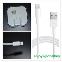Lightning USB Cable Data Sync Charger Cord for Apple iPhone 5 5S iPhone 6 Plus