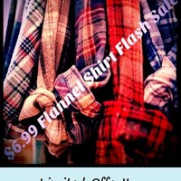 Secret Sale Item! -Unisex Mystery Vintage Flannel Shirts - Pick Your Size & Color