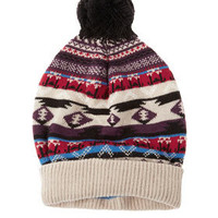 Aztec Fairisle Hat - Made In Britain  - Collections