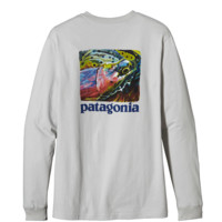 Patagonia Men's Long-Sleeved World Trout Fire T-Shirt