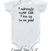 I  Solemnly Swear I Am Up To No Good Funny Baby Bodysuit for Baby