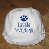 Little Kentucky Wildcat Diaper Cover