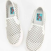 Jeffrey Campbell Ray-Star Cut-Out Slip-On Sneaker-