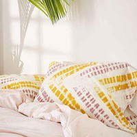 Zig Zag Shibori Pillowcase Set