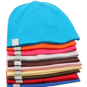 Soft Unisex Cotton Beanie Hat Cap For New Born Baby Boy/Girl Toddler Fashion = 1930227012