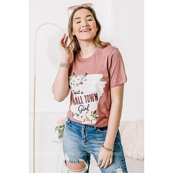 Just A Small Town Ar Girl Graphic Tee