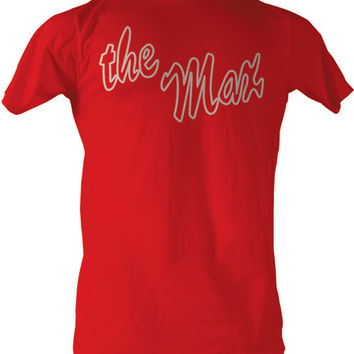 Saved By The Bell The Max Logo Adult Red T-shirt