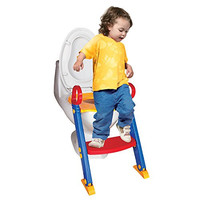 Chummie Joy 6 In 1 Portable Potty Training Ladder Step Up Seat For Boys And Girls With Anti-Skid Feet, Adjustable Steps, Comfortable Potty Seat And Handrail
