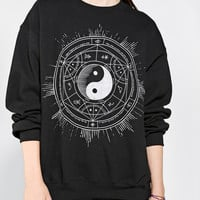 Urban Outfitters - Celestial Yin Yang Pullover Sweatshirt