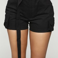 Jane In The Jungle Shorts - Black