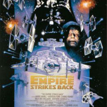 Star Wars Empire Stikes Back Movie Poster
