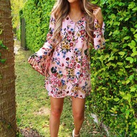 Free My Heart Dress: Multi