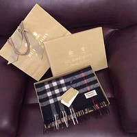 '' BURBERRY '' Woman Accessories Cape Scarf Scarves Black I