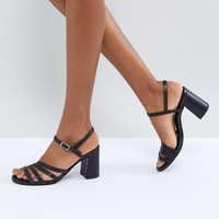 Vagabond Cherie Strappy Leather Heeled Sandals at asos.com