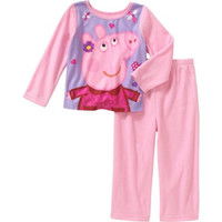 Baby Toddler Girl Assorted Characters Sleepwear Set, Pink 4T