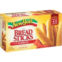 Walmart: New York Brand Bread Sticks with Real Garlic, 6 count, 10.5 oz
