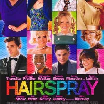 Hairspray 11x17 Movie Poster (2007)