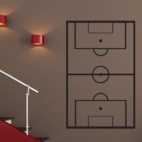 Vinyl Wall Decal Sticker Soccer Coach Play Board #1321