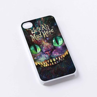 alice the wonderland chesire keep smile iPhone 4/4S, 5/5S, 5C,6,6plus,and Samsung s3,s4,s5,s6