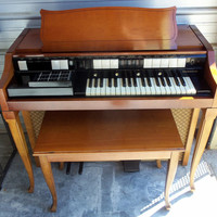 Hammond Chord Organ S133 With Bench 1964 W/Original Paperwork Delivery Available