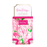 LILLY PULITZER: Koozie - Pink Colony