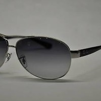 AUTHENTIC RAYBAN RB3386 003/8G SUNGLASSES 63MM RB 3386