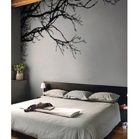 """Stickerbrand Vinyl Wall Decal Sticker Tree Top Branches (M) 100"""" W X 44"""" H: Everything Else"""