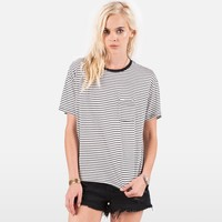 LIVED IN STRIPE TEE