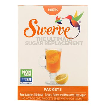 Swerve Sugar Replacement  - Case Of 6 - 40 Ct