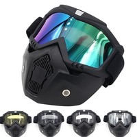 Airsoft Air Guns Accessories Mask Toy Gun Plastic Glasses Airsoft Pistol Safety Accessories Christmas Gift Kid Mask Detachable