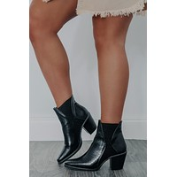 Be There Booties: Black