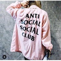 Anti Social Social Club 17ss Jacket S--XL
