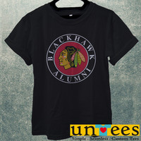 Low Price Men's Adult T-Shirt - Chicago Blackhawk Alumni design