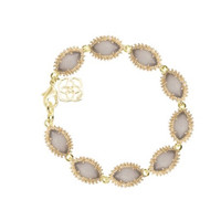 Kendra Scott Jana Bracelet in Grey Slate Cat's Eye