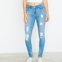 Oh So Blue High Waist Jegging