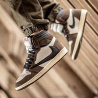 "Travis Scott x Air Jordan Retro 1 High OG TS SP ""Mocha"" ""Cactus Jack"" - Best Deal Online"