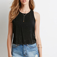 Speckled Crop Top